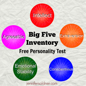 big five inventory Welcome to the homepage of the colby personality lab note: for information about the big five inventory-2, see the bfi-2 tab of this webpage lab director.